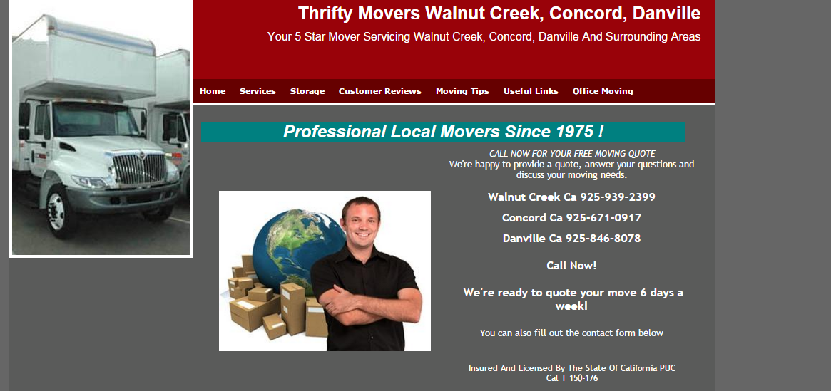 Thrifty Mover Banner